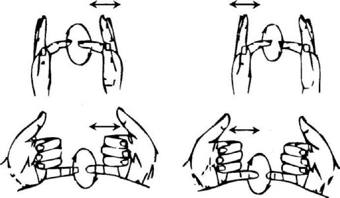 упражнение развития чувствительности рук того, они